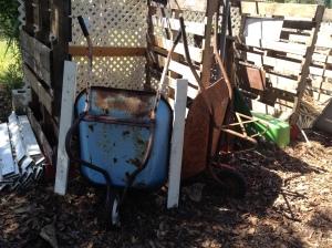Blocking compost