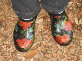 Paradise garden shoes!